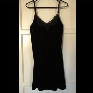 Black Velvet Dress Size Medium